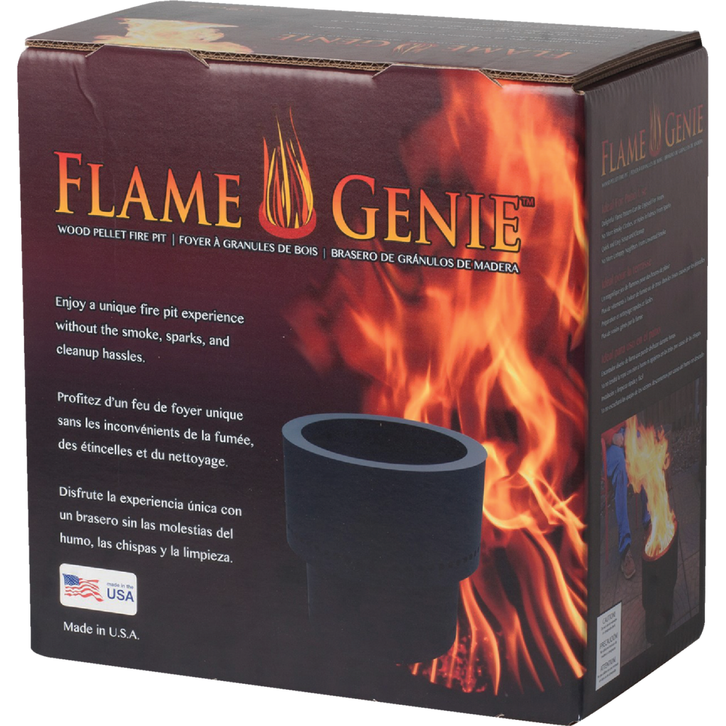 Flame Genie 13.5 In. Steel Round Fire Pit Image 2
