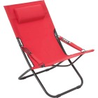 Outdoor Expressions Folding Red Hammock Chair with Headrest Image 1