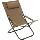 Outdoor Expressions Folding Tan Hammock Chair with Headrest Image 1