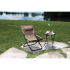 Outdoor Expressions Folding Tan Hammock Chair with Headrest Image 3