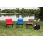 Outdoor Expressions Folding Tan Hammock Chair with Headrest Image 4