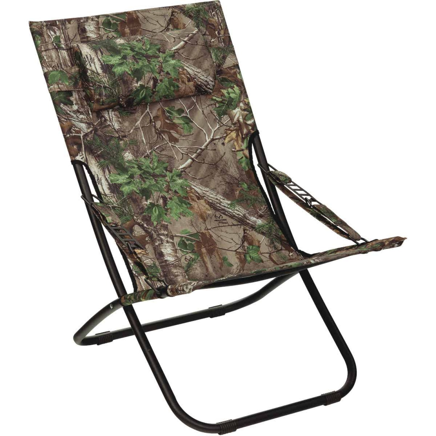 Outdoor Expressions Folding Real Tree Hammock Chair Image 1