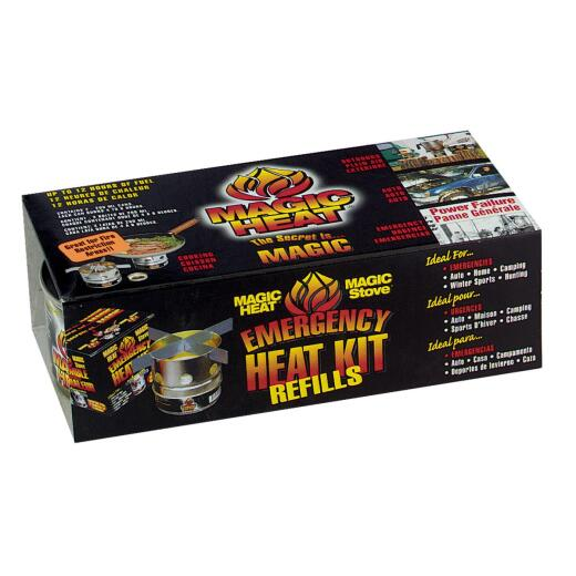 Scientific Utility Magic Heat 7 Oz. Canned Cooking Fuel (2-Pack)
