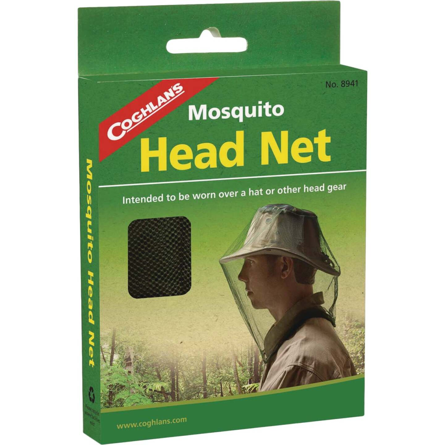 Coleman 10 In. x 24 In. Black Mesh Insect Head Net Image 1