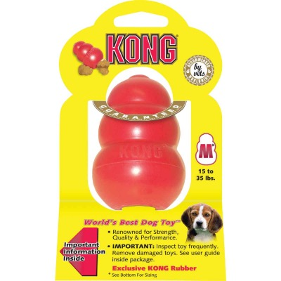 Kong Classic Dog Chew Toy, 15 to 35 Lb.