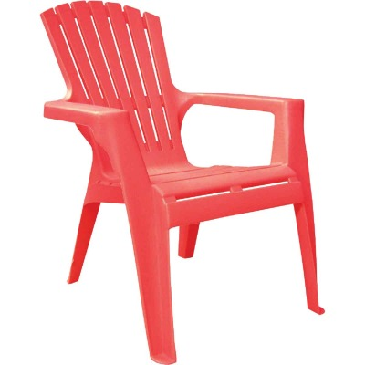 Adams Kids Red Resin Adirondack Chair