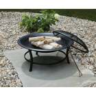 Outdoor Expressions 30 In. Round Steel Fire Pit Image 2