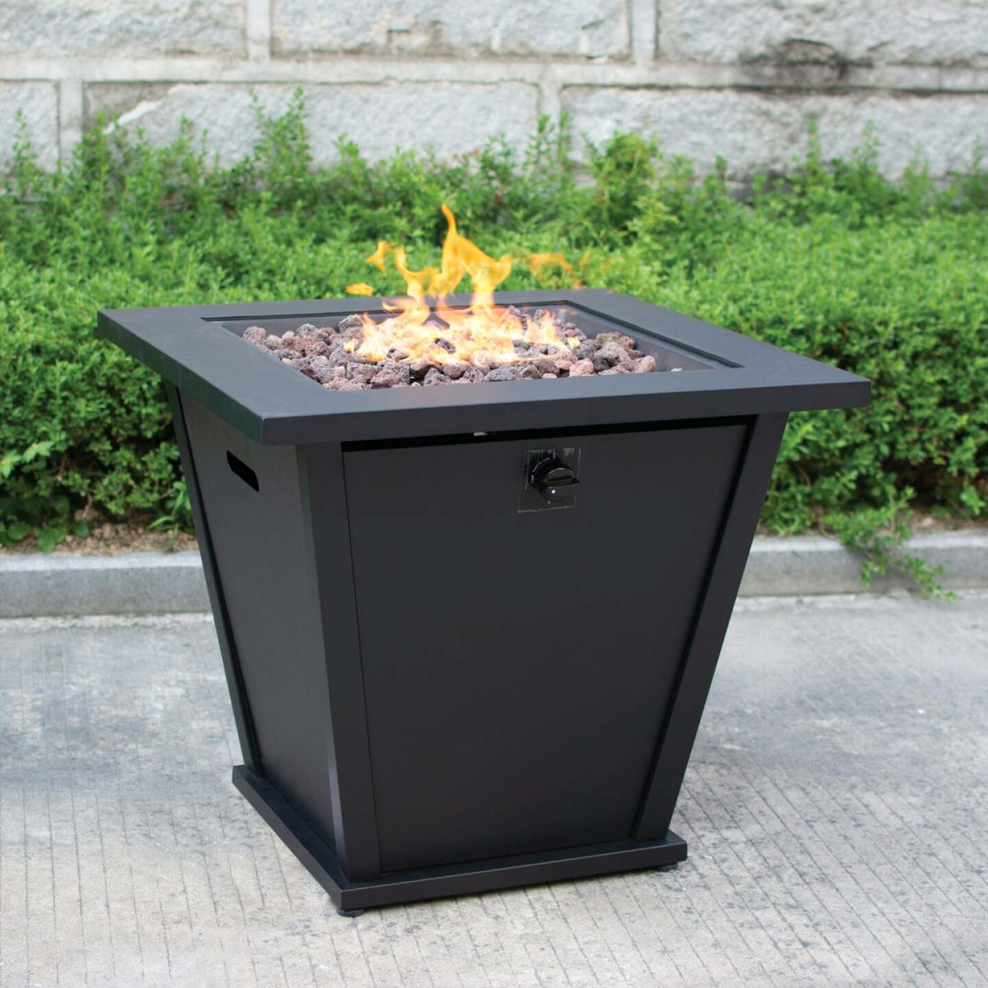 Bond Olivera 28 In. Square Steel Gas Fire Pit Image 1