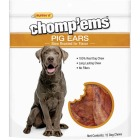 Ruffin' it Chomp'ems Natural Flavor Pig Ear Dog Treat (12-Pack) Image 1