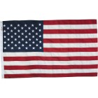 Valley Forge 3 Ft. x 5 Ft. Cotton Natural Series American Flag Image 3