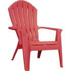 Adams RealComfort Cherry Red Resin Adirondack Chair Image 1