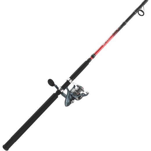 Quantum Optix 8 Ft. E-Glass Fishing Rod & Spinning Reel