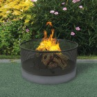 Bond Lomita 30 In. Round Steel Wood Fire Pit Image 2