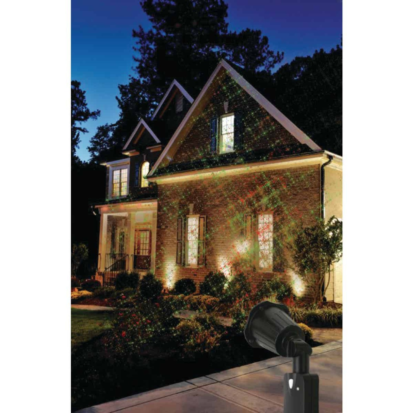 Prime Wire & Cable LED 5W Holiday Laser Light Projector Image 2