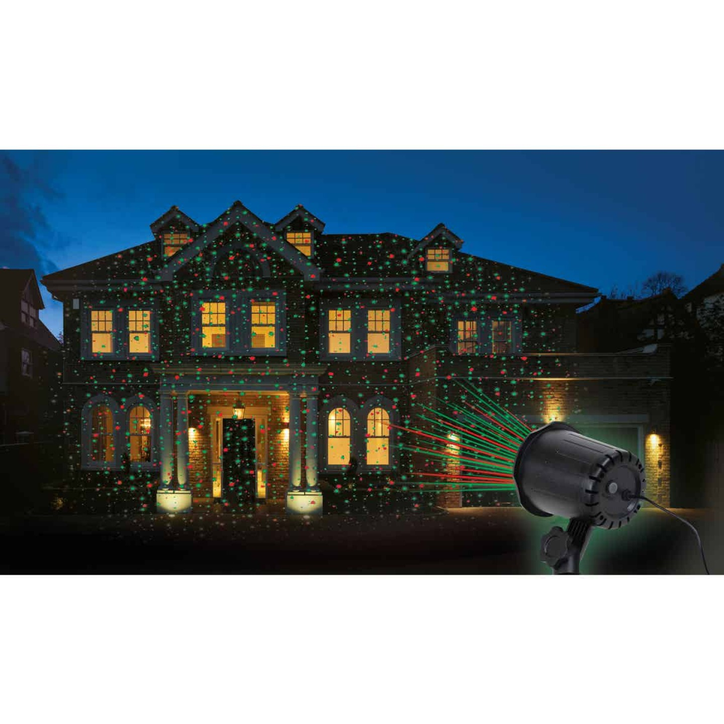 Prime Wire & Cable LED 5W Holiday Landscape Laser Light Projector Image 3