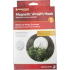 Simple Living Solutions 2 In. Magnetic Plastic Wreath Hanger Image 1