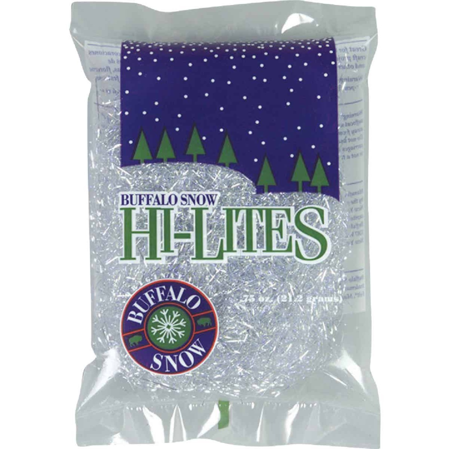 Buffalo Snow Hi-Lites Plastic 0.75 Oz. Artificial Snow Image 1