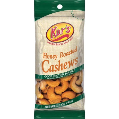Kar's 1.5 Oz. Honey Cashew Nuts