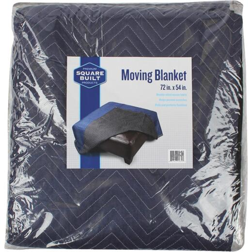 Square Built 72 In. x 80 In. Moving Blanket