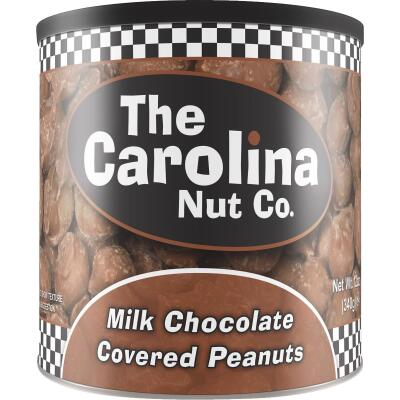 The Carolina Nut Company 10 Oz. Chocolate Covered Peanuts