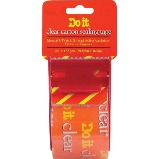 Do It 2 In. x 17.5 Yd. Clear Packing Tape